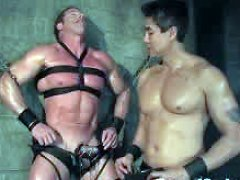 Van Darkholme fucks Bound God Derek Pain.