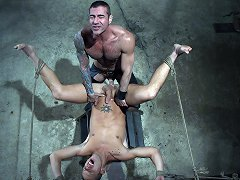 Shane Frost gets tied up and fucked by Nick Moretti