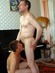 Old piano teacher just can\'t stop fucking this twink